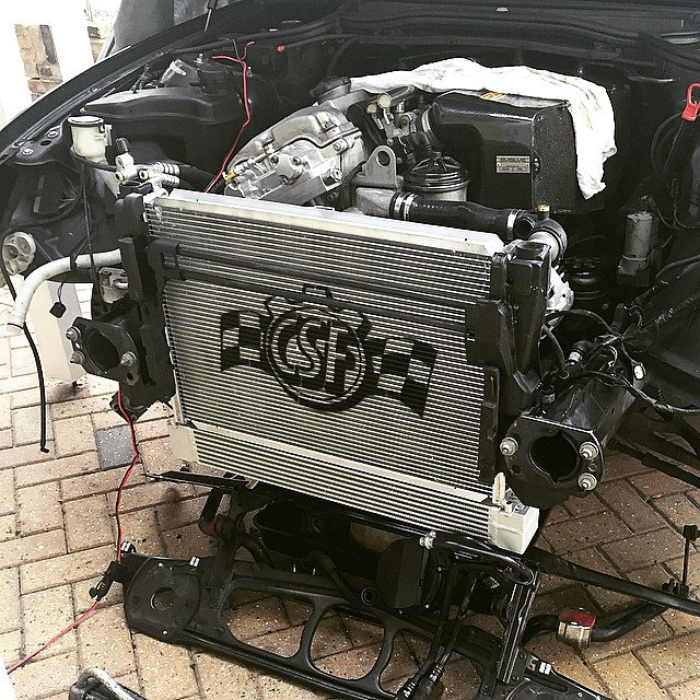 Csf Race Spec Oil Cooler E46 M3 Hack Engineeringhack