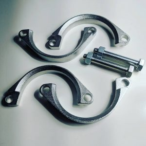 Hack Engineering Stainless Steel Exhaust Flange Repair Kit (E46 M3, Z4 M)